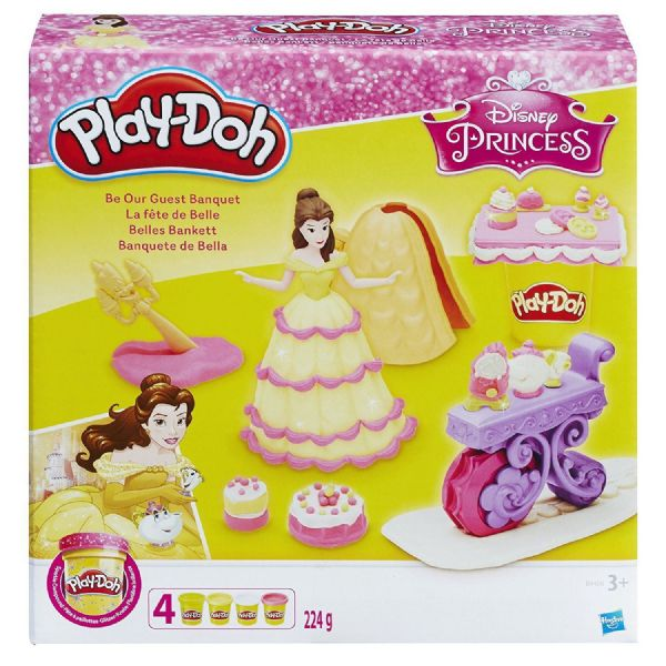 Play Doh Playdoh Disney Princess Belle's Be our Guest Banquet 3+ Years